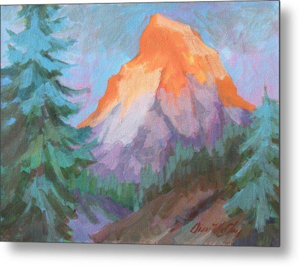 Matterhorn Sunrise Metal Print