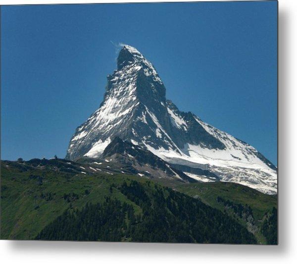 Matterhorn, Switzerland Metal Print