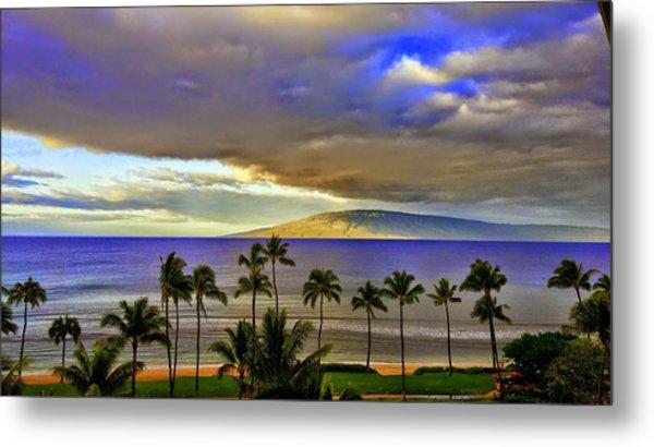 Maui Sunset At Hyatt Residence Club Metal Print