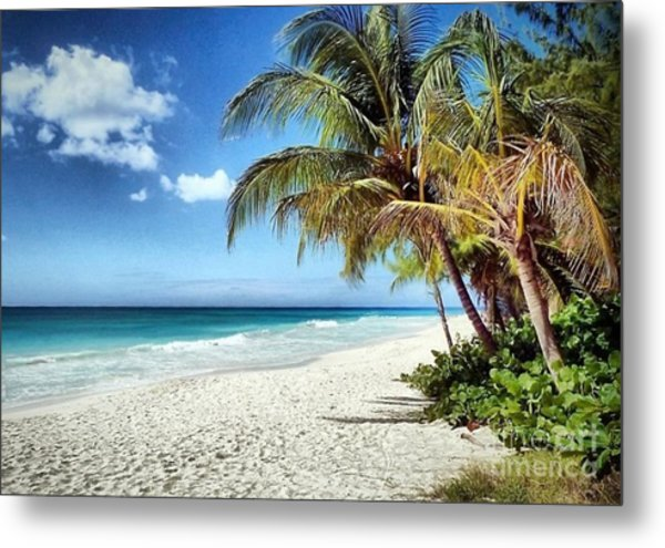 Maxwell Beach Barbados Metal Print