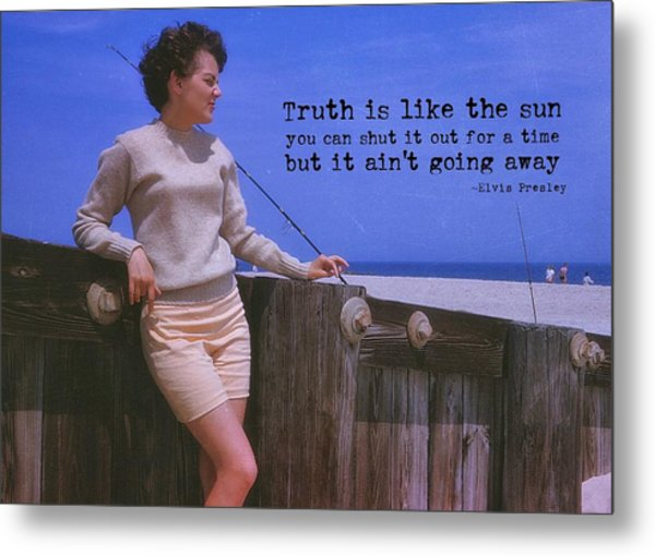 May September Romance Quote Metal Print by JAMART Photography
