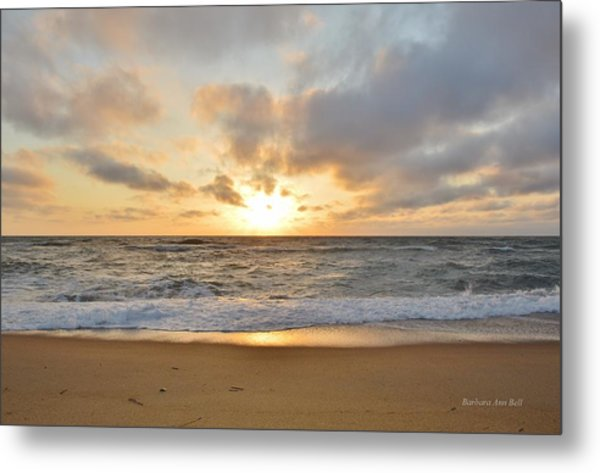 May Sunrise In Obx Metal Print
