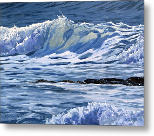 May Wave Metal Print