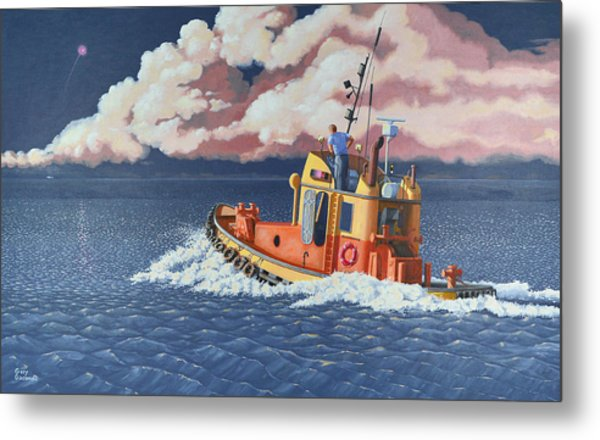 Mayday- I Require A Tug Metal Print