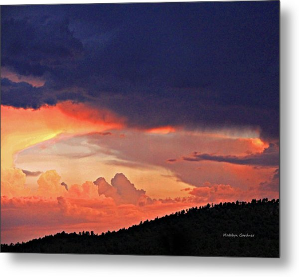Mazatzal Peak Sunset Metal Print