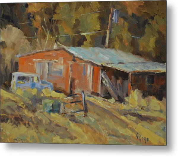 Mccarthy's Shed Metal Print by Gary Gore