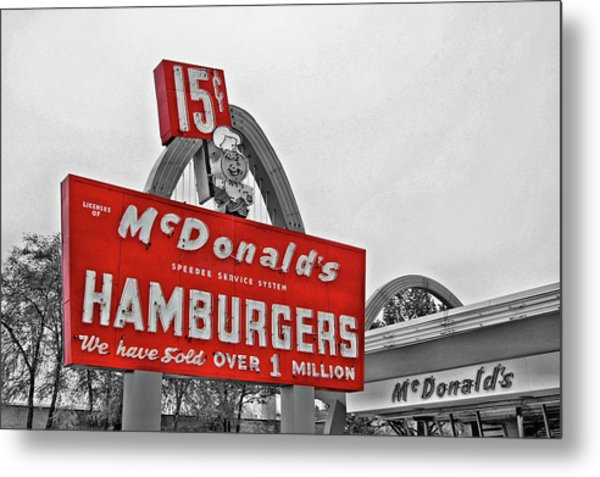 Mc Donald's Museum Metal Print
