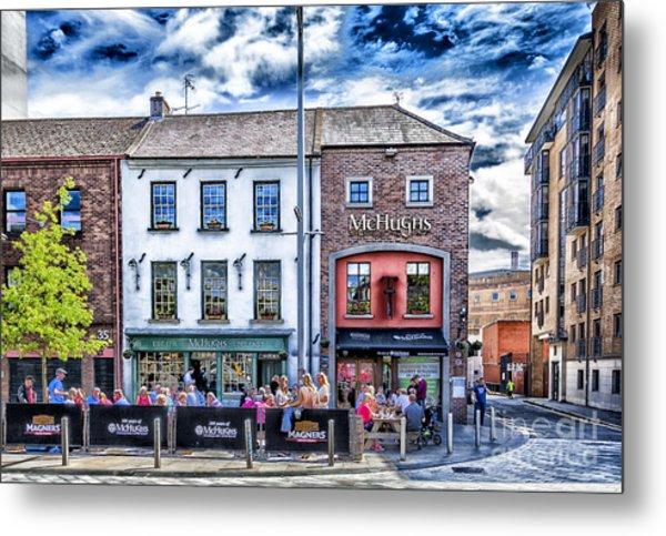 Mchugh's Bar, Belfast Metal Print