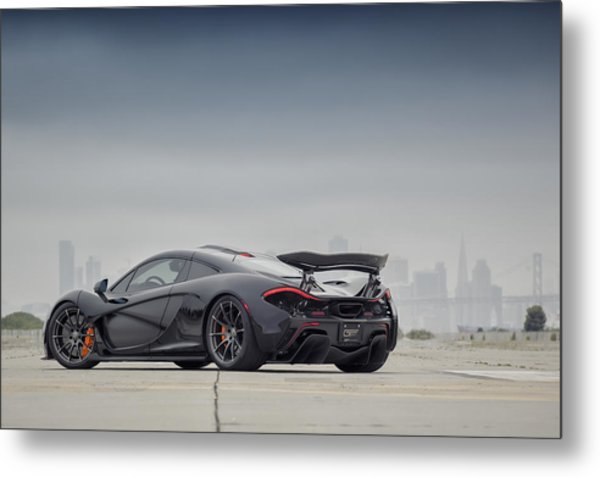 Metal Print featuring the photograph #mclaren Mso #p1 by ItzKirb Photography