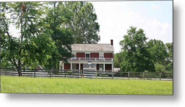 Mclean House Appomattox Court House Virginia Metal Print