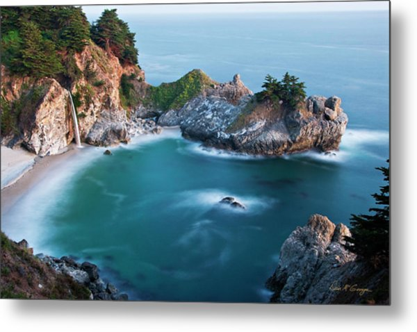 Metal Print featuring the photograph Mcway Bay by Dan McGeorge