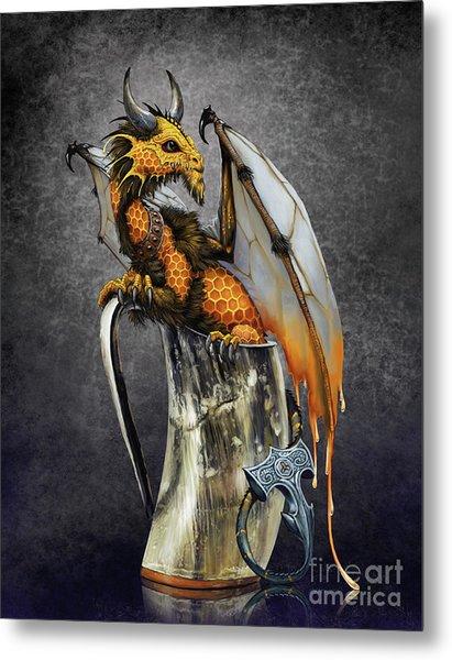 Mead Dragon Metal Print