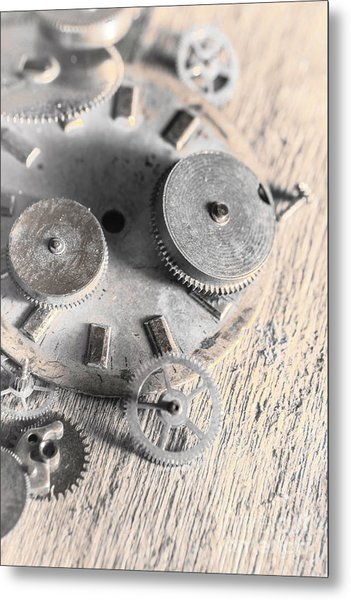 Mechanical Art Metal Print