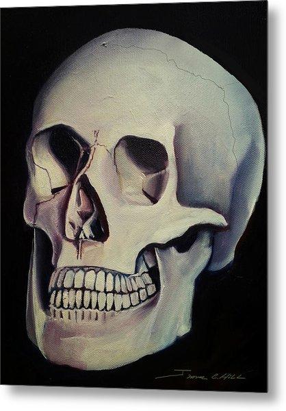 Medical Skull  Metal Print