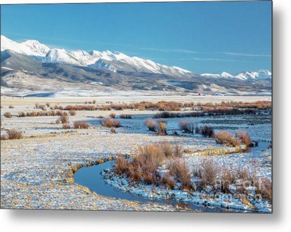 Medicine Bow Mountains Metal Print