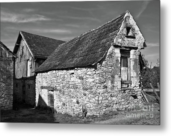 Medieval Country House Sound Metal Print