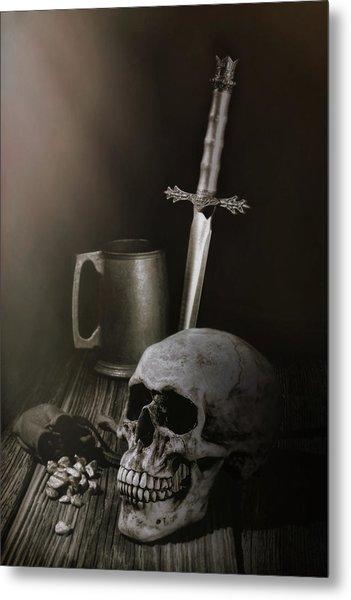 Medieval Still Life Metal Print