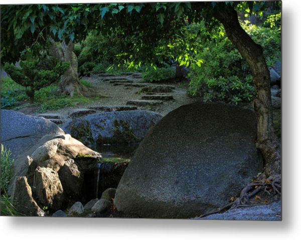 Meditation Path Metal Print