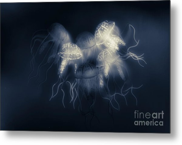 Medusas Light Metal Print