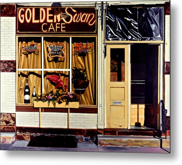 Meet Me There Metal Print by Maureen Piccirillo