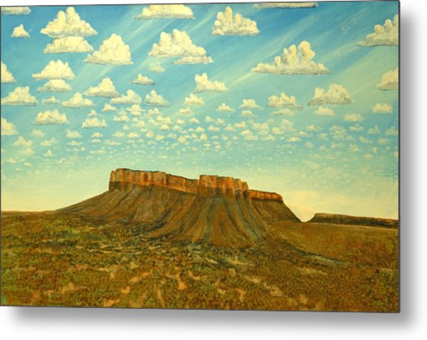 Meet The Posse At Little Crooked Mesa Metal Print