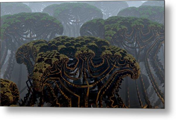 Mega Trees Metal Print