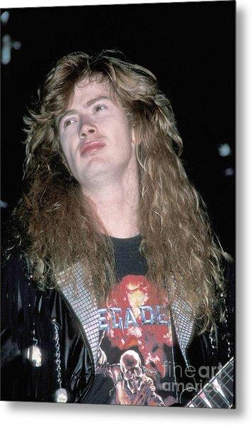 Megadeth Dave Mustaine Metal Print