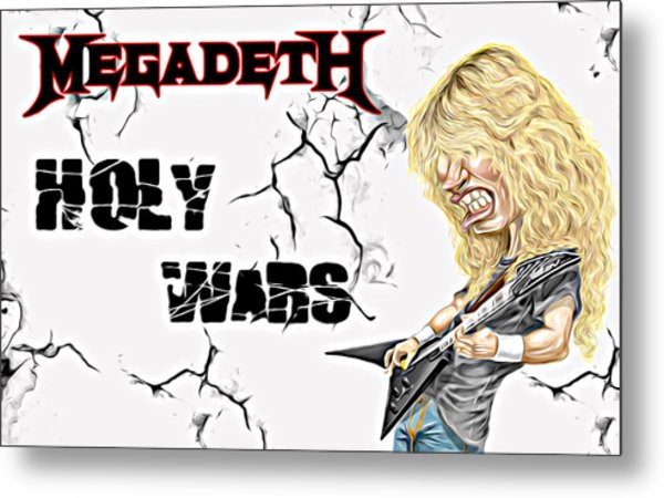 Megadeth Metal Print