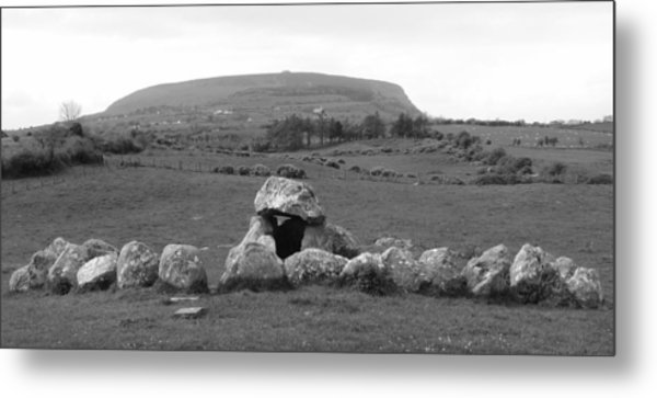 Megalithic Monuments Aligned Metal Print