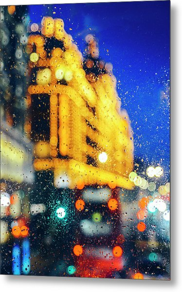 Melancholic London Lights  Metal Print
