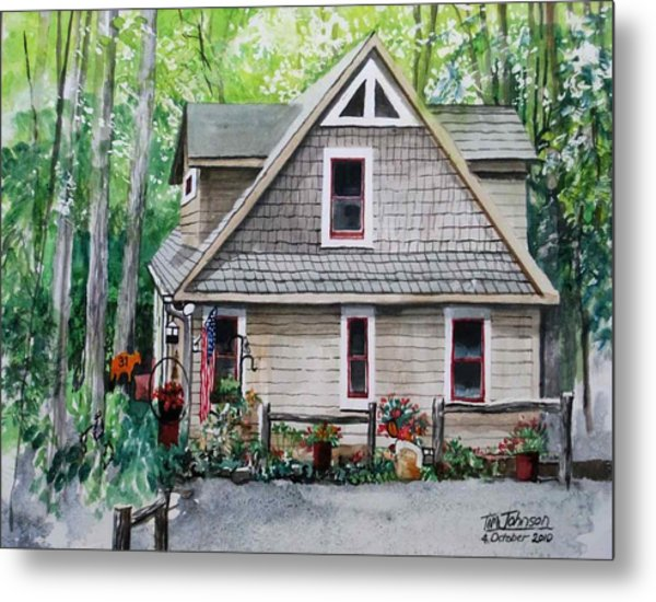 Melissa's Mountain Escape Metal Print