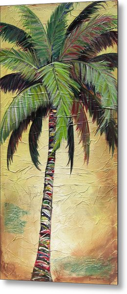 Mellow Palm I Metal Print