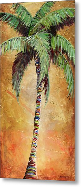 Mellow Palm II Metal Print