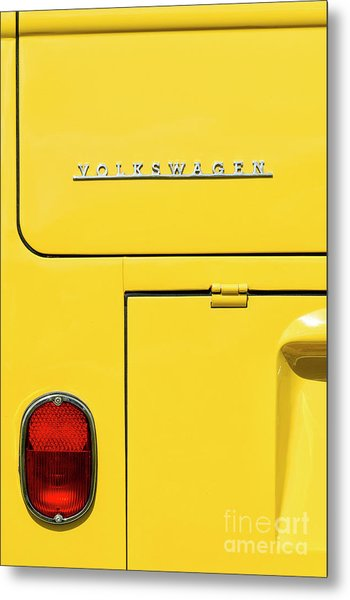 Mellow Yellow Metal Print by Tim Gainey