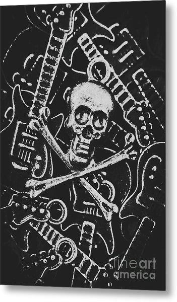 Melodic Death Metal Metal Print