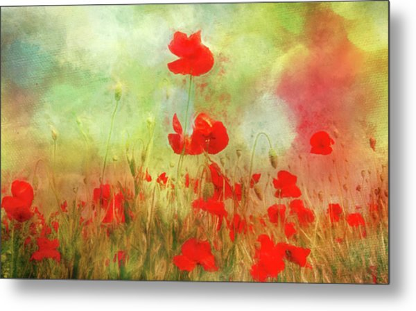 Melody Of Summer Metal Print