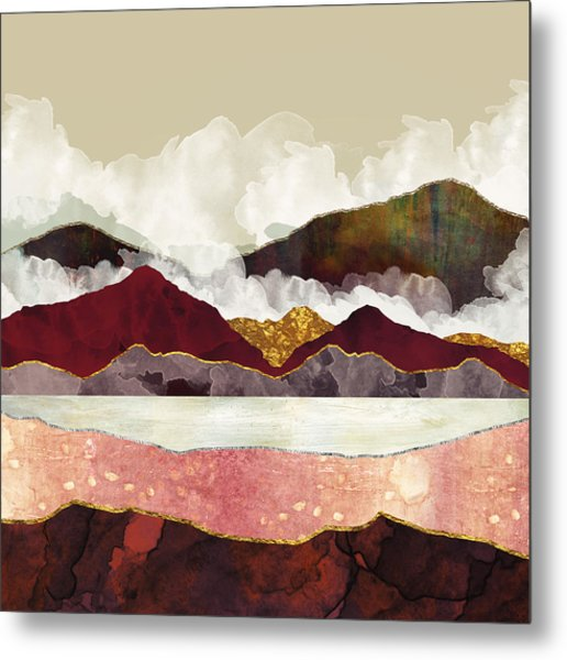 Melon Mountains Metal Print