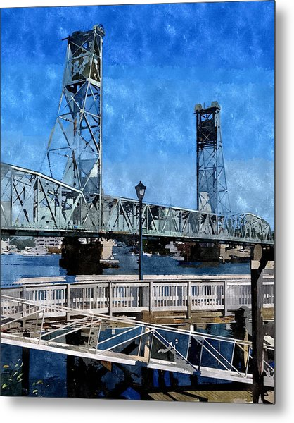 Memorial Bridge Mbwc Metal Print