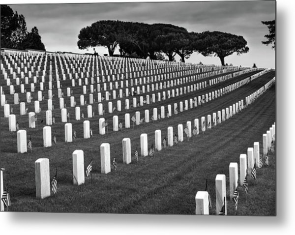 Memorial Day 2016 - Fort Rosecrans Metal Print