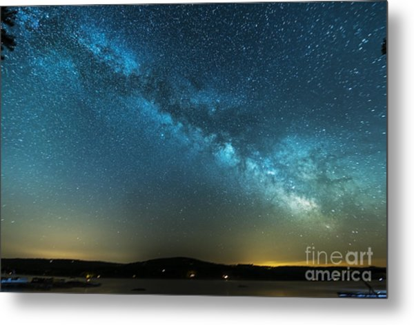Memorial Day Milky Way Metal Print