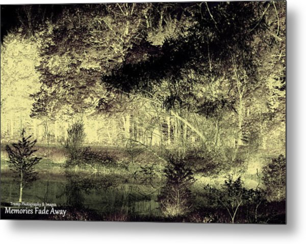 Memories Fade Away Metal Print
