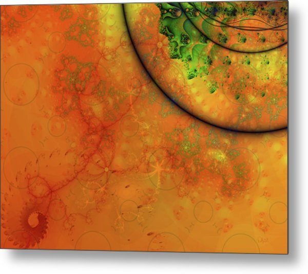 Memories Of Another Time Iv Metal Print