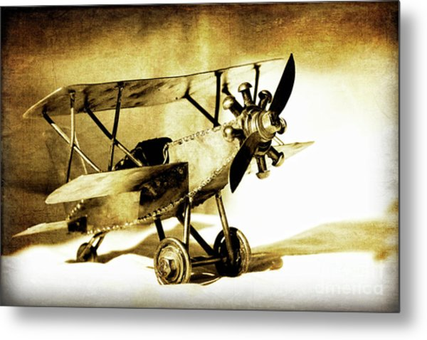 Memories Of Flying Metal Print by Lincoln Rogers