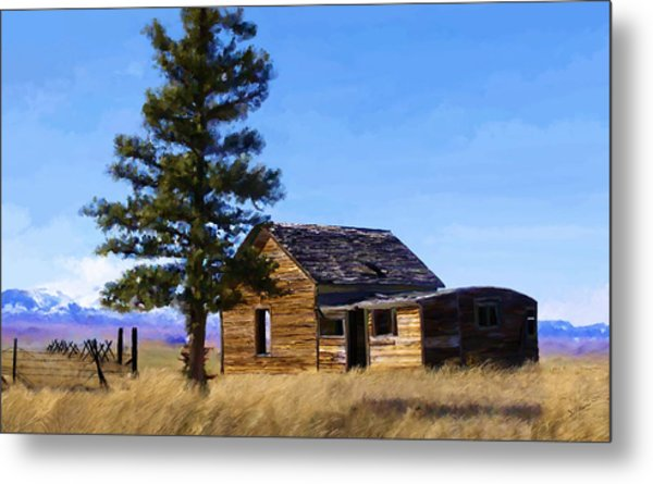 Memories Of Montana Metal Print