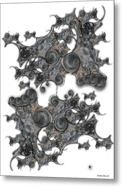 Memories Of Silent Creation Metal Print