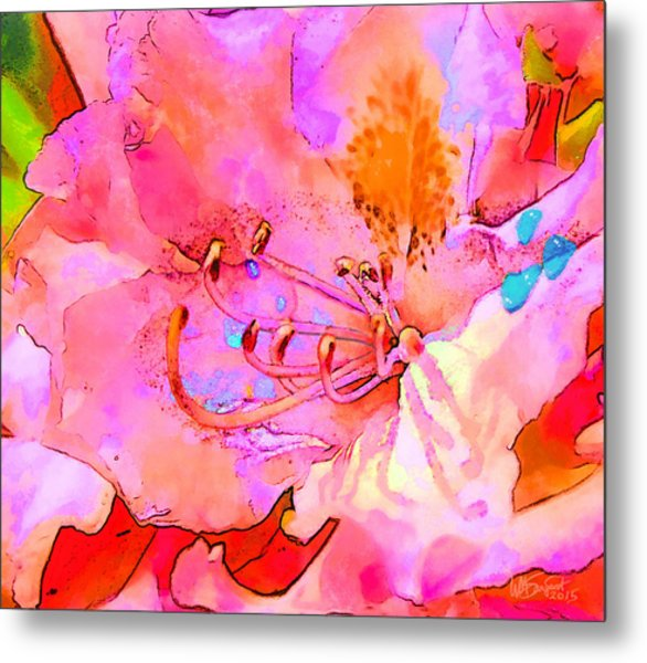 Memories Of Spring Metal Print