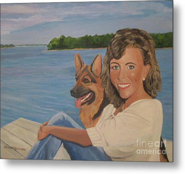 Memories Of Stephanie In Freeport Metal Print