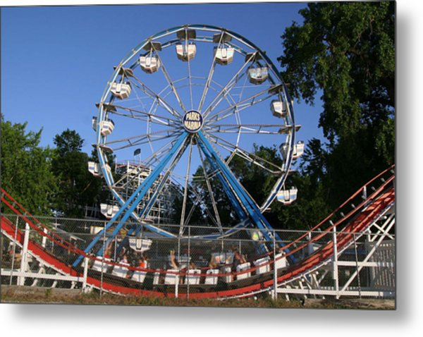 Memories Of Summer Fun Metal Print
