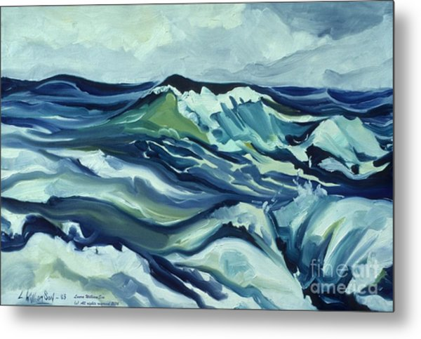 Memory Of The Ocean Metal Print