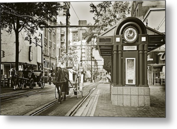 Memphis Carriage Metal Print